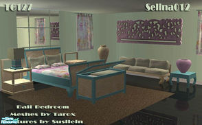 Sims 2 — TC127 Bali Bedroom by selina012 — Made for the texture challenge 127. Meshes by Taroo at Tarox. Please download