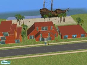 Sims 2 — Coco Beach Resort by KatieKing — Coco Beach Resort. Come relax in the sun. Resort features indoor pool,