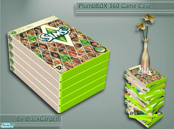 Blackgarden 39 s plumbbox 360 game case sims 3 for Case the sims 3 arredate