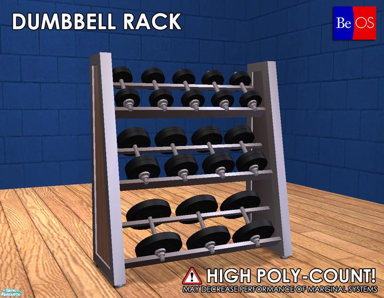 Beosboxboy S Weight Room Dumbell Rack