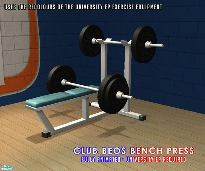 Weight Bench In Living Room