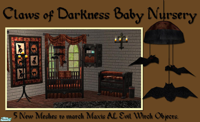 Claws Of Darkness Baby Nursery