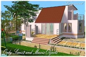 Sims 2 — Tgm-Lot-72b (Maxis Objects) by TugmeL — You a new home and Only Sims-2!. Garden, Jacuzzi, Game area and is