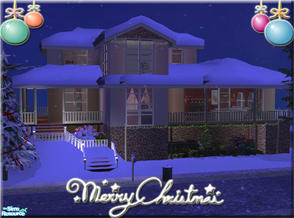 Sims 2 — Christmas House by brandontr —