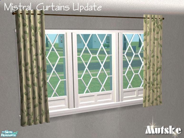 mutske's Mistral Curtains Short Length 3tile