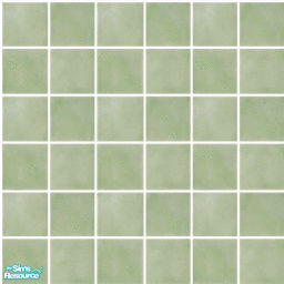 lisa9999s Colorful Bathroom Floor Tile in Green