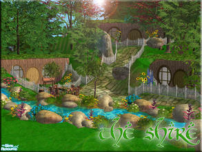 Sims 2 — The Shire by brandontr —
