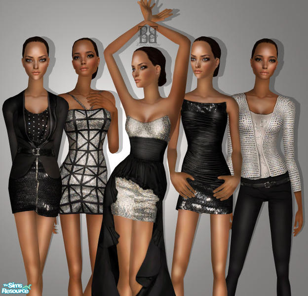 The sims 4 [ mod pack] hairs,clothes,others free download cheveux.