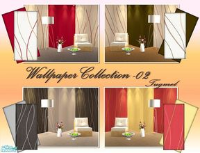 Sims 2 — Tgm-Wallpaper Set-02 by TugmeL — Included: 8 Wallpapers, Cost:5