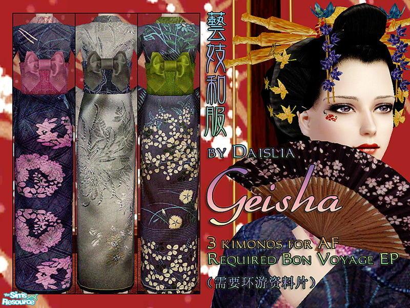 Daislia S Geisha Kimonos For Af