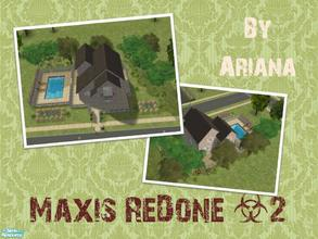 Sims 2 — Maxis ReDone 2 by Ariana31Player — Another makeover of a maxis house