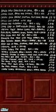 Sims 2 — Patrick Chalkboard by SimonettaC — A Chalkboard with the menu of all your local pub fayre. Great for your