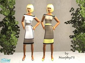 Sims 2 — Chocolate Frost - SR2 by Murphy75 — New fashionable spring/summer dresses for female adult sims! Enjoy!
