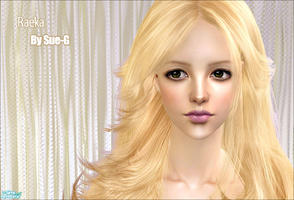 Sims 2 — raeka by CherryND — A pretty girl? *_* haha...The skintone and eyeshadow and eyeline is by E-studio,big thanks