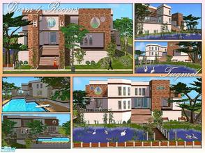 Sims 2 — Tgm-Lot-77 (Dorm-4 Rooms) by TugmeL — This dorm will be very happy students!! All rooms include Double bed,
