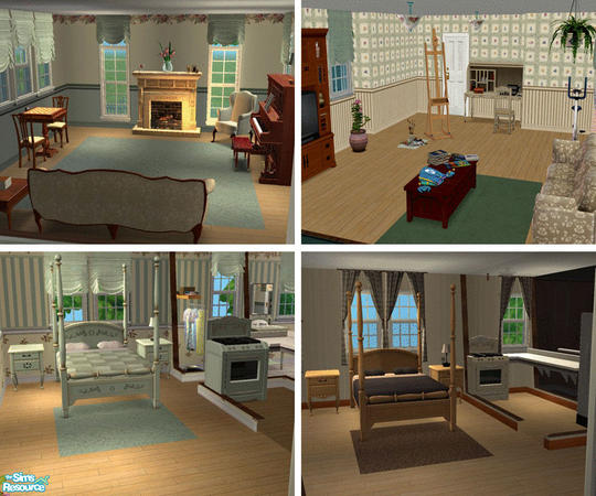 Pinecat's Walnut Grove Boarding House (apartment Lot