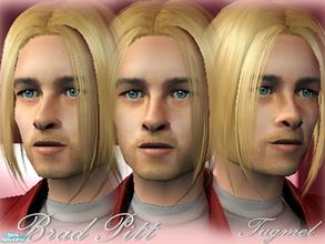 Sims 2 — Brad Pitt by TugmeL — This large family is complete with Brad Pitt!! Biological twins (Vivienne Marcheline ve