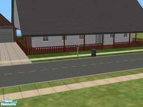 Sims 2 — Country Home 4 by themcgfamily — 3 beds, 3 baths, 1 car garage, covered porch. Ready to decorate! Have fun!