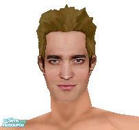 Sims 1 — Edward Cullen -- Light by frisbud — Done by request. I had some folks who don\'t use pale skins in their games