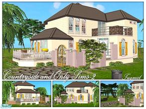 Sims 2 — Tgm-Lot-79 (Furnished) by TugmeL — Countryside house and Only Sims-2, full furnished! Additional packages are