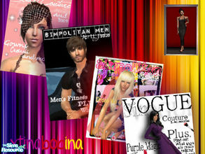Sims 2 — Vogue by xtinabobina — A simple collection of Vogue Posters. Enjoy!