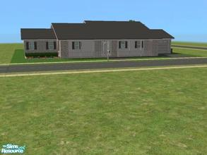 Sims 2 — C-3 by kattmc3 — A small house for your sims with 3 bedrooms, bathrooms pool and one car garage DO NOT COPY OR
