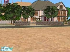 Sims 2 — 8054 Hillside Drive by liberty — For this house I was inspired with the Charmed Manor. It has a grand Hall with