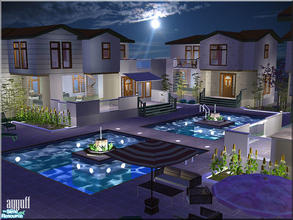 Sims 2 — Luxury Apart Villas *Furnished* by ayyuff — 4x4(large lot)-fully tested in game and with Clean Installer- See