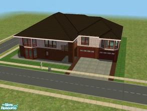 Sims 2 — C-4 by kattmc3 — A large 6 bedroom,6 bathroom home for your sims.The home includes a pool two car garage and