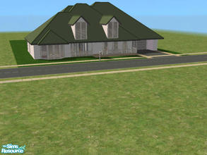 Sims 2 — C-5 by kattmc3 — A 3 bedroom,3 bathroom home with a pool one car garage and pool. THIS IS MINE NOT YOURS DON\'T