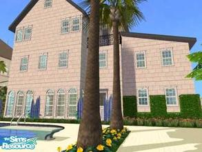 Sims 2 — 7860 Old Road  by liberty — It\'s a very nice old townhouse. With modern wallpapers and floors but a old