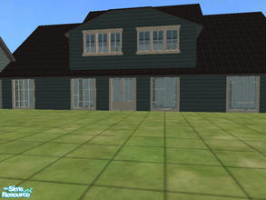 Sims 2 — Casaul Country 4 by themcgfamily — Unfurnished house waiting to be decorated and for sims to start their lives