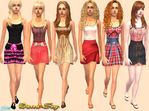 Sims 2 — Fashion for female by danaszy — A nice set of 6 outfits for adult female. Thanks for wonderful mesh by Liana