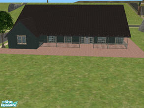 Sims 2 — Country Living by themcgfamily — This house is featured in Casual Country Home Plans. Private MB