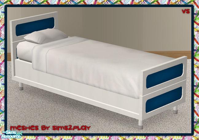 Vanilla Sim S Vs Crayola Twin Bed Frame