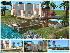 "Sims 2 — Tgm-Lot-05 (Furnished) by TugmeL — Beach house and Only Sims-2, full furnished! Please ""Installation"