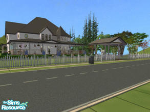 Sims 2 — Calistoga Road (Sidney Prescott\'s house) by liberty — I\'ve finsht the house that I promised to create for you.