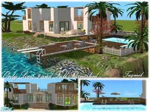 "Sims 2 — Tgm-Lot-05a (Unfurnished) by TugmeL — Beach house and Only Sims-2, **Please ""Installation"
