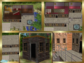 Sims 2 — House for renovation by danaszy — The prison adapt to house for your sims. Renovation is necessary or not. If