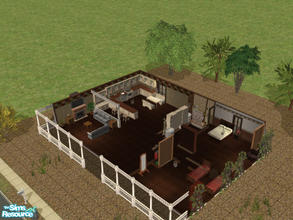Sims 2 — country living 4 by themcgfamily — relax in this country home with beds, 1.5 baths, a spacious country kitchen