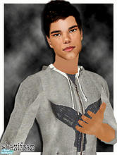 Sims 2 — Taylor Lautner by shazifraz — The cute-charming actor from Twilight.