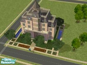 Sims 2 — City Hall by liberty — I created this lot to make my town more realistic. You could make a nioghtclub out of it