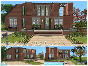 Sims 2 — Tgm-Lot-80 (Furnished) by TugmeL — Only Sims-2 and full furnished!! Additional packages are ready for the garage