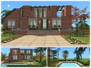 Sims 2 — Tgm-Lot-80a (Unfurnished) by TugmeL — Only Sims-2!! Additional packages are ready for the garage area..**Please