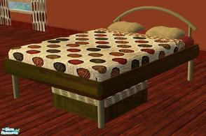 Sims 2 — Nikki Bedroom RC- Bed by mom_of2boyz — A recolor of Nikki Bedroom by Creations by Angela. The bed is the master