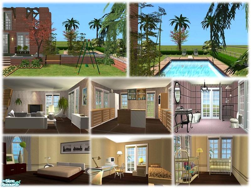 Sims 2 lot downloads: june 2011.