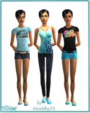 Sims 2 — So Blue - SR 8 by Murphy75 — Stylish new outfits for teens!