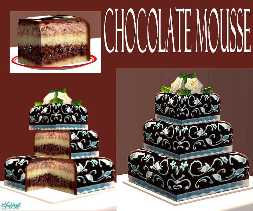 Eris3000 S Chocolate Mousse Wedding Cake