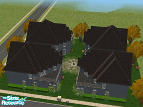 Sims 2 — Serenity by Cali95678 — Spacious 2 story Apartment Condo with 1 bedroom, 1 1/2 bath, 2nd story balcony. For a