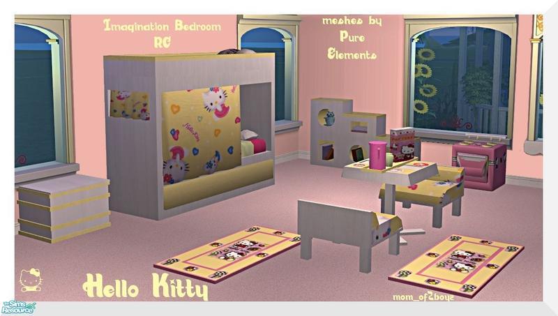 Mom Of2boyz S Imagination Bedroom Rc Hello Kitty